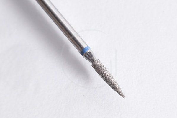 Deimantinis frezos antgalis Liepsnelė 2.1 mm, 1 cm